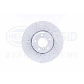 Brake Disc Brake Disc Thickness: 30mm, Ø: 340mm with OEM Number 3411 6 797 602