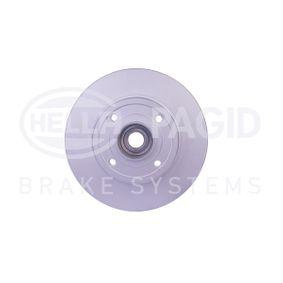 Bremsscheibe Bremsscheibendicke: 8,0mm, Ø: 240mm mit OEM-Nummer 8200038305