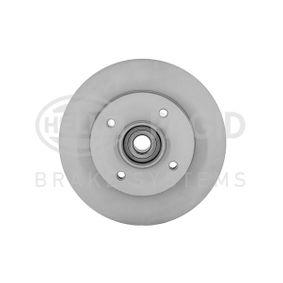 Disco de travão Espessura do disco de travão: 9mm, Ø: 249mm com códigos OEM 4249.34