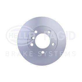 Bremsscheibe Bremsscheibendicke: 22,0mm, Ø: 296mm mit OEM-Nummer 1 163 081