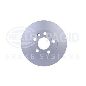 Bremsscheibe Bremsscheibendicke: 24,0mm, Ø: 280mm mit OEM-Nummer 7D0 615 301 A
