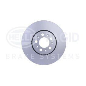 Bremsscheibe Bremsscheibendicke: 25,0mm, Ø: 287mm mit OEM-Nummer 1J0.615.301C