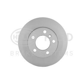 Bremsscheibe Bremsscheibendicke: 22,0mm, Ø: 284mm mit OEM-Nummer 34 116 764 629