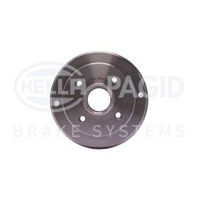 Bremstrommel Trommel-Ø: 180mm, Br.Tr.Durchmesser außen: 208mm mit OEM-Nummer 6001 548 126