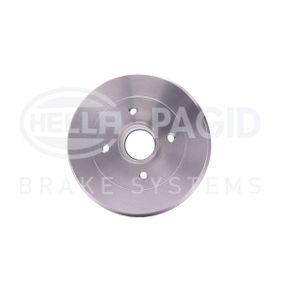 Renault Twingo 2 1.2 (CN0D) Trommelbremsen HELLA 8DT 355 301-071 (1.2 (CN0D) Benzin 2012 D7F 800)