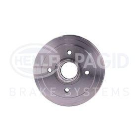 Bremstrommel Trommel-Ø: 180,2mm, Br.Tr.Durchmesser außen: 208mm mit OEM-Nummer 7700 783 030
