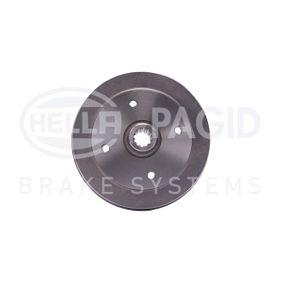 Bremstrommel Trommel-Ø: 230mm, Br.Tr.Durchmesser außen: 262mm mit OEM-Nummer 113501615J
