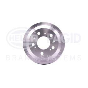 Bremstrommel Trommel-Ø: 254mm, Br.Tr.Durchmesser außen: 298mm mit OEM-Nummer 60606