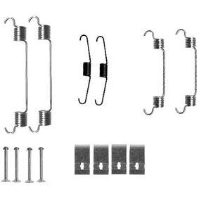 Комплект принадлежности, спирани челюсти 8DZ 355 200-731 Jazz 2 (GD_, GE3, GE2) 1.2 i-DSI (GD5, GE2) Г.П. 2005