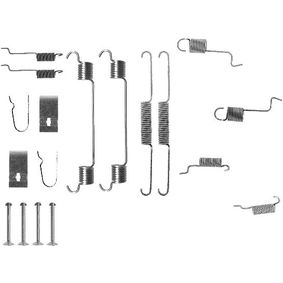 Zubehörsatz, Bremsbacken 8DZ 355 201-061 323 P V (BA) 1.3 16V Bj 1997