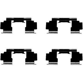 Комплект принадлежности, дискови накладки 8DZ 355 202-991 25 Хечбек (RF) 2.0 iDT Г.П. 2004