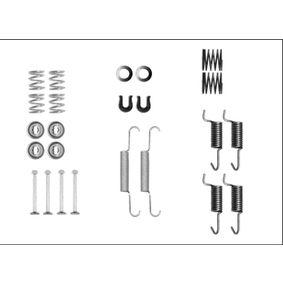 Zubehörsatz, Feststellbremsbacken 8DZ 355 205-941 IMPREZA Schrägheck (GR, GH, G3) 2.5 WRX S AWD Bj 2010