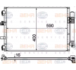 OEM Kondensator, Klimaanlage HELLA 8FC351344554