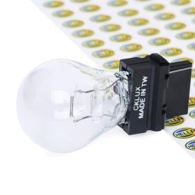 Bulb, indicator P27W, S-8, 12V, 27W 8GA 007 731-232