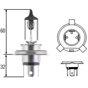 Glühlampe, Hauptscheinwerfer H4, P 43 t-38, 100/90W, 12V 8GJ 002 525-201