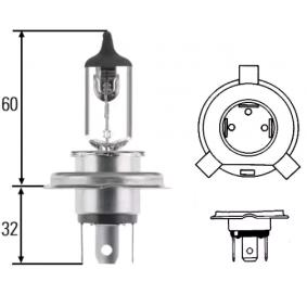 Glühlampe, Hauptscheinwerfer H4, P 43 t-38, 60/55W, 12V 8GJ 002 525-898