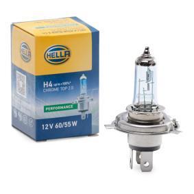 Glühlampe, Fernscheinwerfer H4, 60/55W, 12V 8GJ 002 525-981