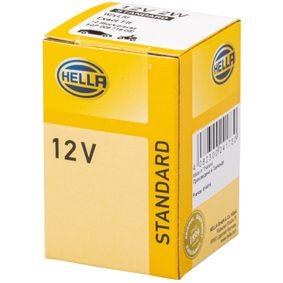 Крушка с нагреваема жичка, осветление на уредите W2W, 2ват, 12волт 8GP 009 716-002