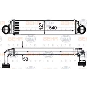 Ladeluftkühler 8ML 376 988-064 X3 (E83) 2.0 d Bj 2006