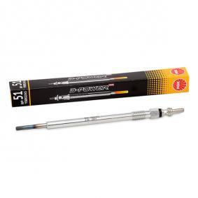 Glow Plug Total Length: 150,0mm, Thread Size: M8 x 1,0 with OEM Number 001.159.50.01