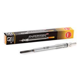 Glühkerze Länge über Alles: 119,7mm, Gewindemaß: M8 x 1,0 mit OEM-Nummer 93 17 8047
