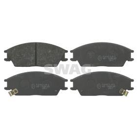 Bremsbelagsatz, Scheibenbremse Breite: 49,0mm, Dicke/Stärke 1: 14,8mm mit OEM-Nummer 58101-24B00