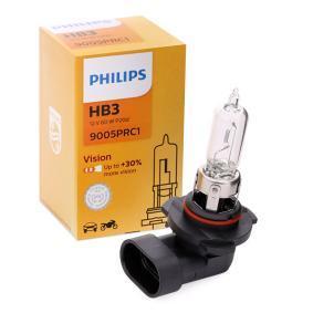 Glühlampe, Fernscheinwerfer HB3, 60W, 12V 9005PRC1