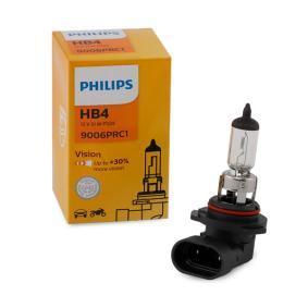 Крушка с нагреваема жичка, фар за дълги светлини HB4, 51ват, 12волт 9006PRC1 VW GOLF, PASSAT, POLO