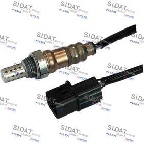 Lambdasonde Kabellänge: 650mm mit OEM-Nummer 39210-2B040
