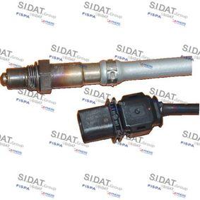 Lambdasonde Kabellänge: 440mm mit OEM-Nummer 06J906262AA