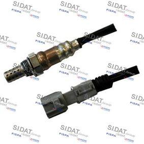 Lambdasonde Kabellänge: 320mm mit OEM-Nummer 89465-02280