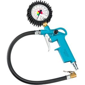 HAZET Compressed Air Tyre Gauge / -Filler 9041-1
