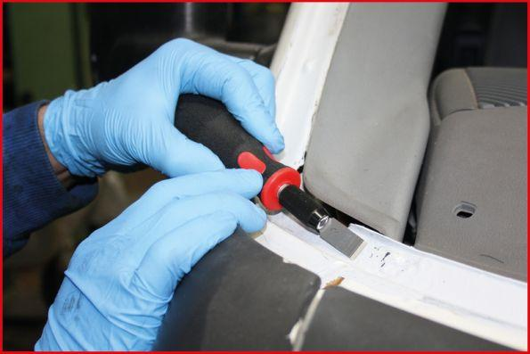 Juego de cuchillas, rascador KS TOOLS 907.2200 evaluación