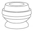 KYB Zestaw ochrony przeciwpyłowej amortyzatora Protection Kit, Oś przednia