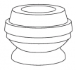 KYB Odbój i osłona amortyzatora Protection Kit, Oś przednia