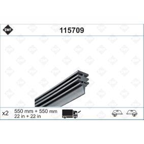 Wiper Blade Rubber 115709 PUNTO (188) 1.2 16V 80 MY 2002