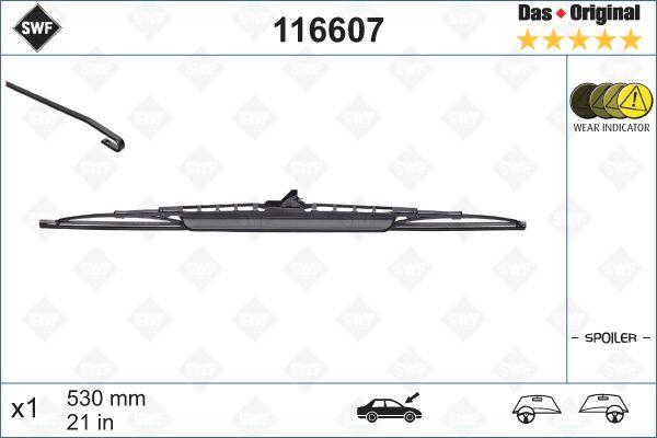 Scheibenwischer 116607 SWF 116607 in Original Qualität