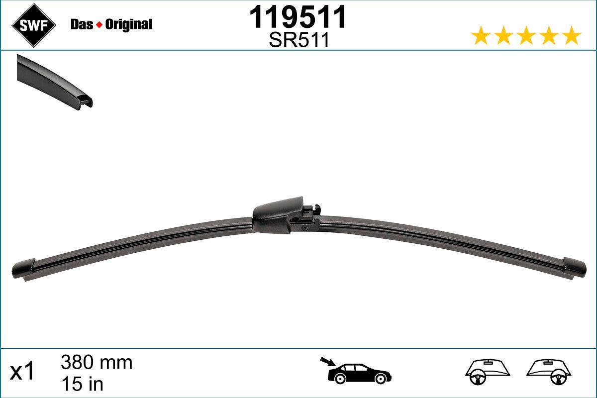 Scheibenwischer 119511 SWF 119511 in Original Qualität