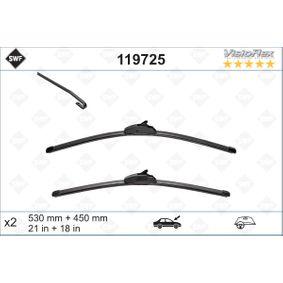 Wiper Blade 119725 PUNTO (188) 1.2 16V 80 MY 2004
