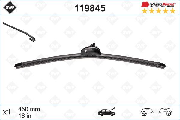 Windscreen Wiper 119845 SWF 119845 original quality