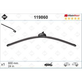 Wiper Blade 119860 Note (E11, NE11) 1.4 MY 2012