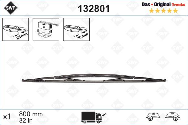Scheibenwischer 132801 SWF 132801 in Original Qualität