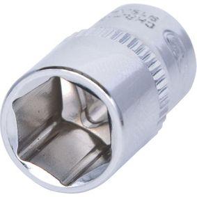 Piezas insertables de llave de cubo