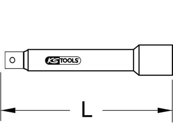 Verlängerung, Steckschlüssel KS TOOLS 918.1455 Erfahrung