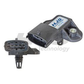 Sensor, pressão de sobrealimentação Número de pólos: 4pólos, de: 11000Pa, até: 307000Pa com códigos OEM 9158595