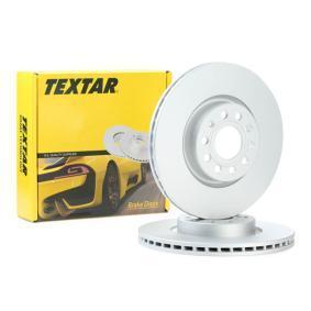 TEXTAR Bremsscheibe 92120505 mit OEM-Nummer 5Q0615301F