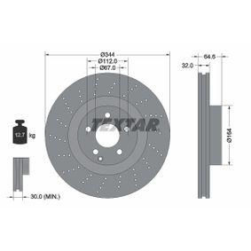 Brake Disc 92224605 E-Class Saloon (W212) E 350 3.5 4-matic (212.088) MY 2014