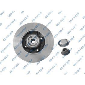 Disco de travão Espessura do disco de travão: 9mm, Jante: 4furos, Ø: 248,6mm com códigos OEM 42 49 34
