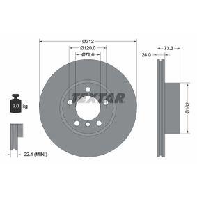 Brake Disc 92261805 3 Saloon (F30, F80) 320d 2.0 MY 2014