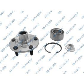 Cubo de rueda Ø: 134,2mm con OEM número 4103347